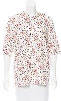 Sonia Rykiel Star Print Long Sleeve Top