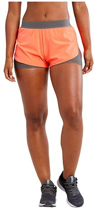 Craft Vent 2-in-1 Racing Shorts (Shock) Women's Casual Pants