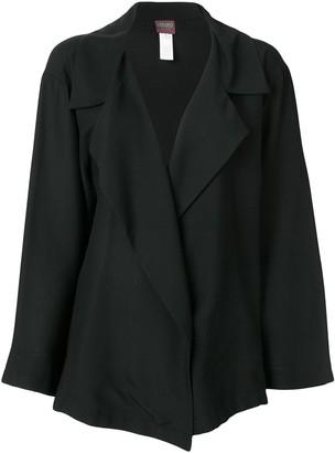 Kenzo Pre-Owned wide lapels loose jacket