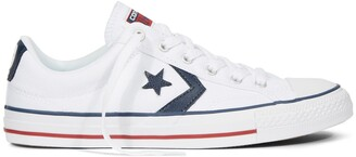 Converse Star Player Core Canvas Low Top Trainers