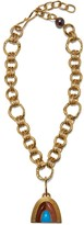 Lizzie Fortunato Pot of Gold Necklace in Seaside