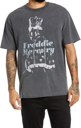 Topman Freddie Mercury Graphic Tee