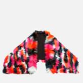 McQ by Alexander McQueen Women's Patchwork Fur Scarf Black/Multi