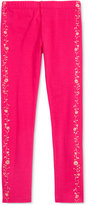 Epic Threads Mix and Match Floral-Print Tuxedo Leggings, Toddler & Little Girls (2T-6X), Only at Macy's