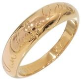 Van Cleef & Arpels 18K Rose Gold Wedding Band Ring Size 4.5