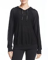 Koral Activewear Mesh Hoodie Sweatshirt