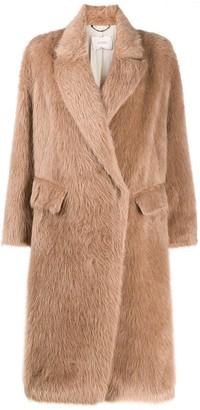 Dorothee Schumacher Oversized Faux Fur Coat