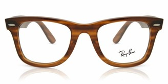 Ray-Ban Unisex's Rx4340v Wayfarer Eyeglass Frames Prescription Eyewear