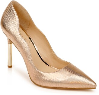 Badgley Mischka Riley Glitter Pointed Toe Pump