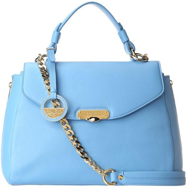 Versace LBF0302 LVNA (Blue) - Bags and Luggage