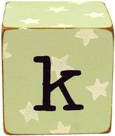 New Arrivals Newarrivals LB-K-033 Letter Blocks K in Green