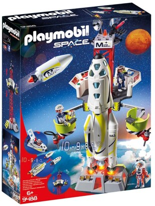 Playmobil Space Mission Rocket Launch Site