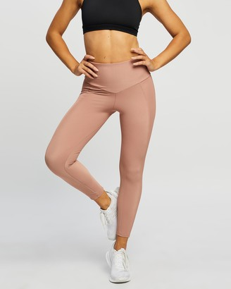 Onzie Women's Brown Tights - Sweetheart Midi Tights - Size XS at The Iconic