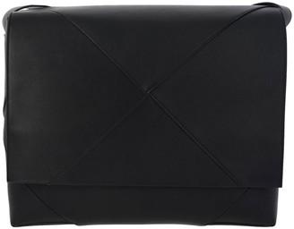 Bottega Veneta Messanger Bag In Woven Genuine Leather And Shoulder Strap