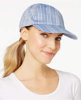 INC International Concepts Striped Cotton Baseball Cap, Only at Macy's