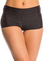 Speedo Women's Solid Boyshort Bikini Bottom 8135928