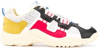Diadora Low Top Mesh Panel Sneakers