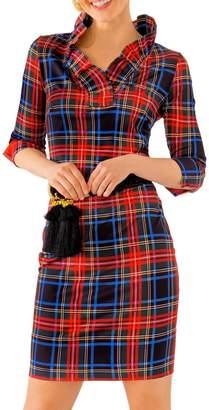 Gretchen Scott Jersey Ruffneck Dress