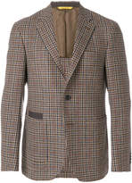 Canali two buttoned plaid jacket