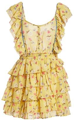 LoveShackFancy Phyllis Tiered Dress