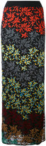 Missoni floral maxi skirt - women - Silk/Nylon/Polyester/Rayon - 44