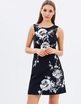 Karen Millen Floral Scuba Dress