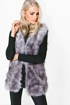 Boohoo Emma Faux Fur Gilet