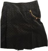 Gucci Khaki Skirt