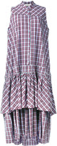Circus Hotel plaid dress - women - Cotton - 40