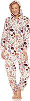 Asstd National Brand Donuts Long Sleeve One Piece Pajama