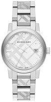 Burberry Check Stamped Bracelet Watch, 35mm