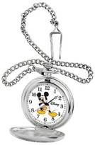 Disney Men's Mickey Mouse Pocket Watch - Silver