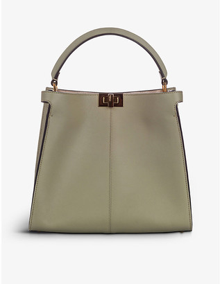 Resellfridges Pre-loved Fendi Peekaboo X-Lite leather tote bag