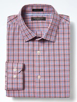 Banana Republic Camden Standard-Fit Cotton Stretch Non-Iron Tri-Plaid Shirt