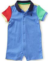 Ralph Lauren Baby Boys 3-24 Months Color Block Shortall