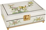 Oriental Furniture Special Simple Beautiful Gift for Mom Girl Wife, 11-Inch Clementina Lacquered Oriental Jewelry Box