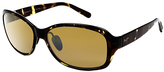 Maui Jim Olive Tortoise & Bronze Koki Beach Polarized Oversize Sunglasses