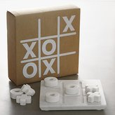 Crate & Barrel Marble Tic-Tac-Toe Game Set