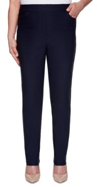 Alfred Dunner Petite Easy Street Super-Stretch Pull-On Pants