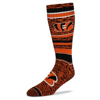 Women's For Bare Feet Cincinnati Bengals Going to the Game Socks