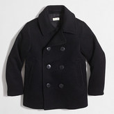 J.Crew Factory Boys' wool peacoat