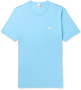 Dolce & Gabbana Stretch-Cotton Jersey T-Shirt - Men - Blue