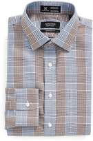 Nordstrom Smartcare(TM) Traditional Fit Graphic Check Dress Shirt