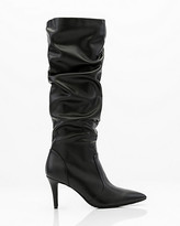 Le Château Pointy Toe Knee High Slouch Boot