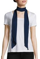 Donni Charm Lady Long Skinny Silk Scarf