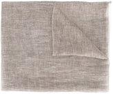 Eleventy frayed trim scarf