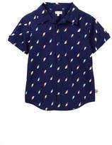 Splendid Allover Print Woven Shirt (Little Boys)