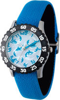 Discovery Kids Blue and Black Multi-Shark Watch