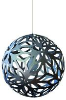 David Trubridge Floral Pendant Lamp Aluminum