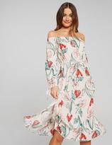 Dotti Charlotte Shoulder Midi Dress
